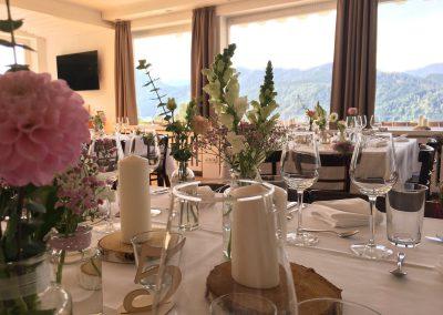 Basislager Schliersee Hochzeit Beispiel Dekoration Insel 2